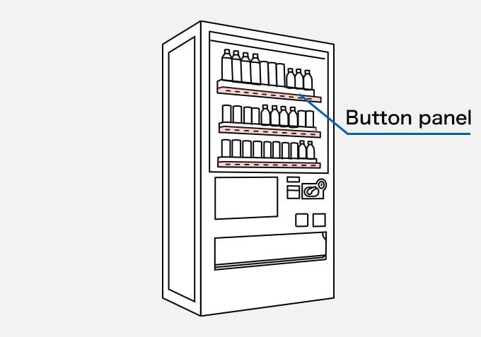 Vending Machine Button panel