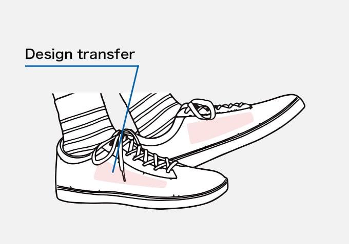 Shoes Design transfer