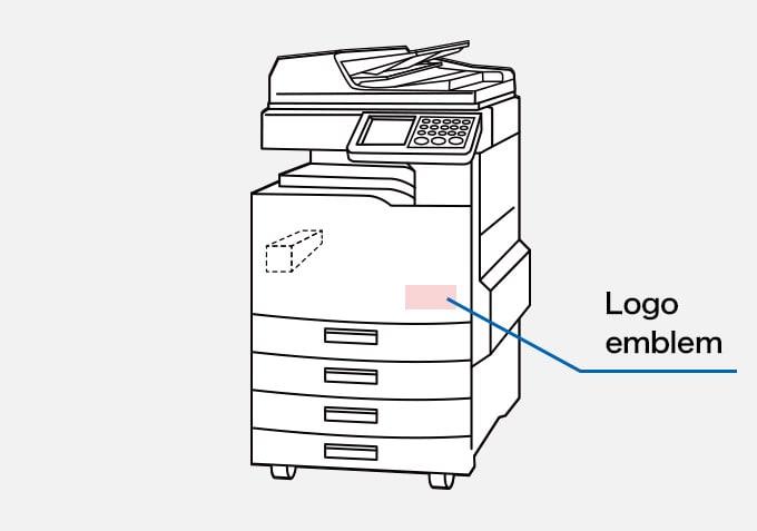 Printer / Photocopier Logo emblem